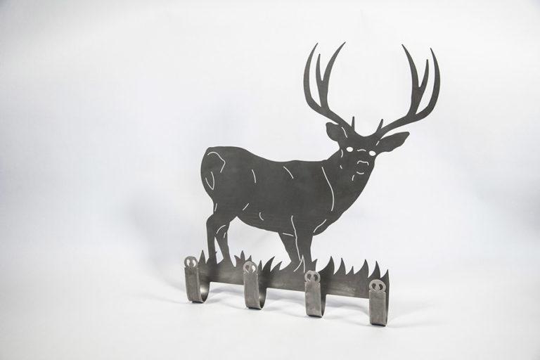 Deer coat hanger, large
