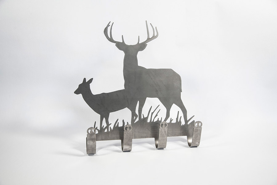 Deer coat hanger, small