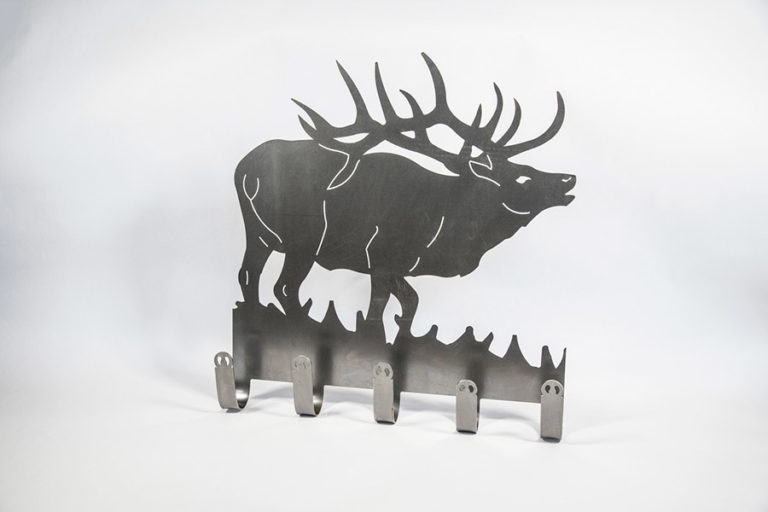 Elk Shaped Coat Hanger